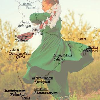 Tanzlandschaftskarte