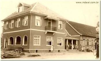 No centro de Indaial, 1928