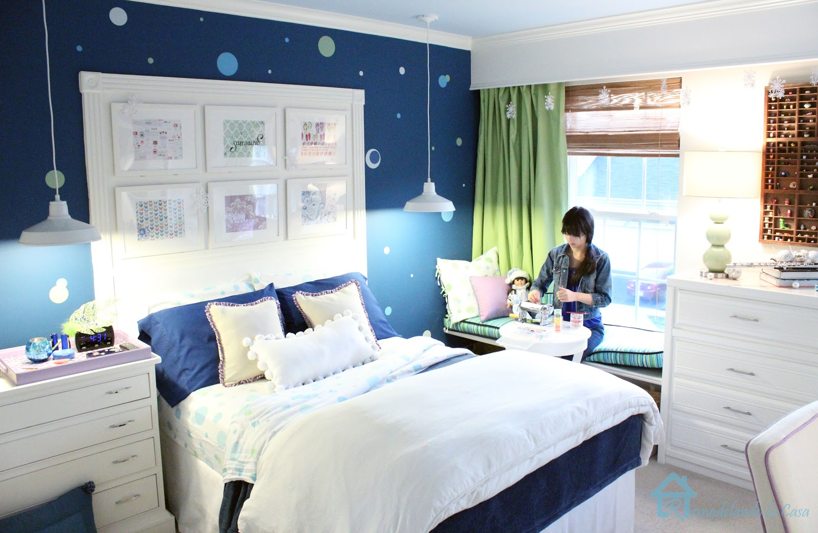 Remodelando la casa changes coming for boy 39 s room for Blue teenage bedroom ideas
