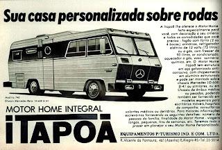 propaganda trailer Motor Home Itapoã - 1978.  brazilian advertising cars in the 70s; os anos 70; história da década de 70; Brazil in the 70s; propaganda carros anos 70; Oswaldo Hernandez;