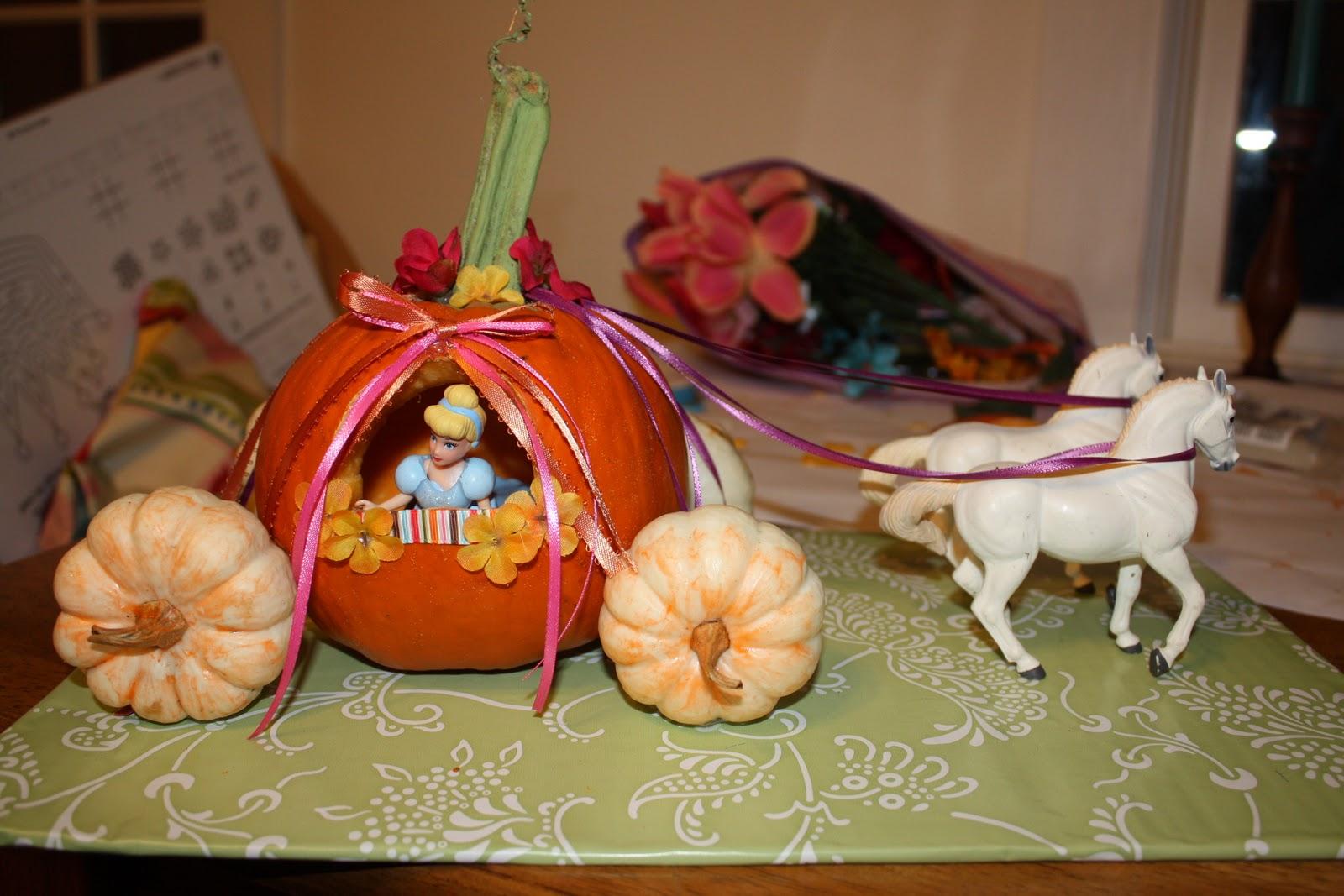Free Cinderella Pumpkin Carriage Carving