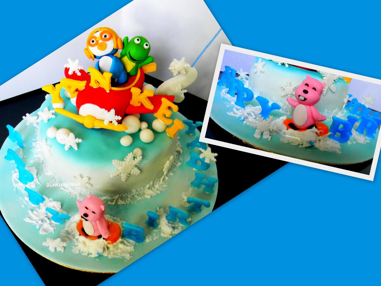 Pororo Birthday Cake Sg