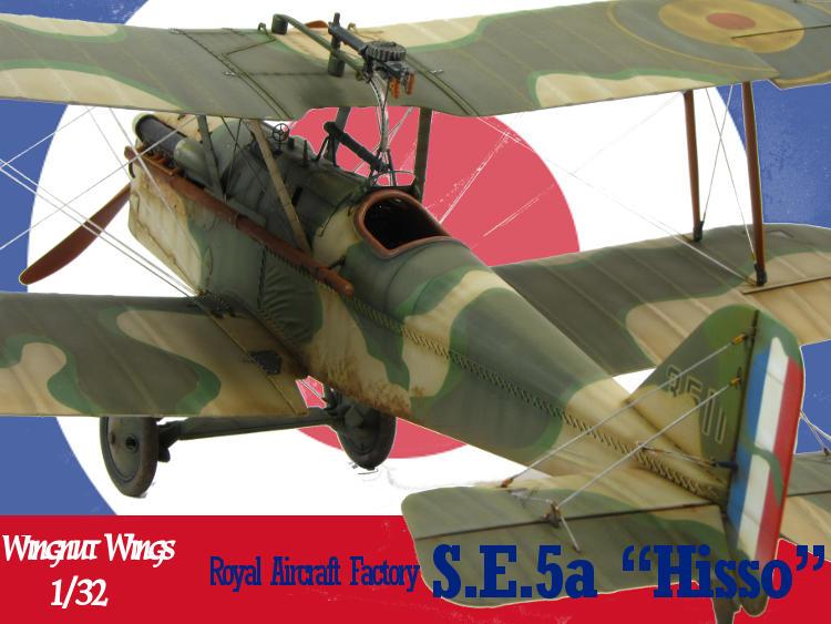 "Royal Aircraft Factory S.E.5 ""Hisso"""