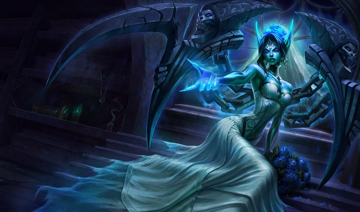 Morgana League of Legends Wallpaper