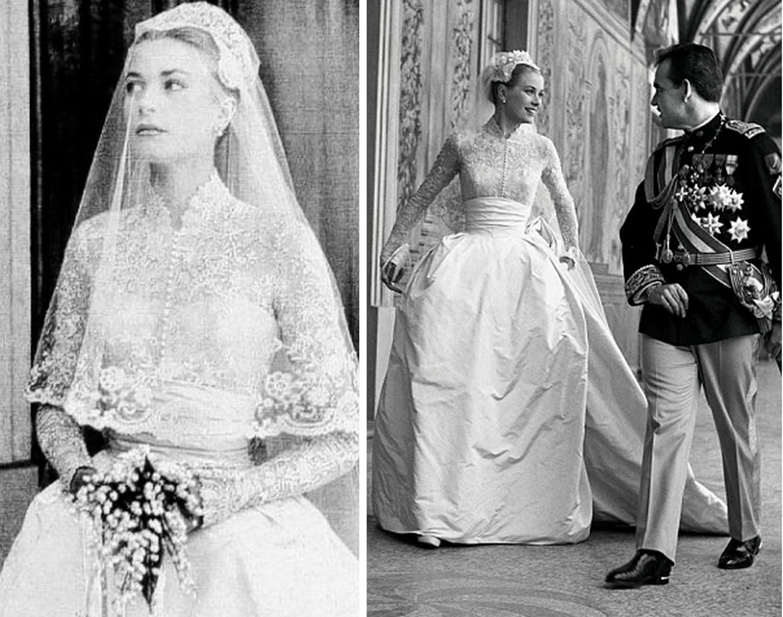 Loulou 39 s vintage fair vintage icon grace kelly for Princess grace wedding dress