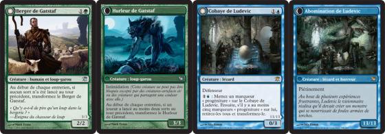 Magic Innistrad : cartes recto-verso