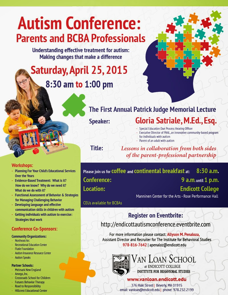 Autism Conference For Parents And >> Nesca News Notes Autism Conference For Parents And Professionals