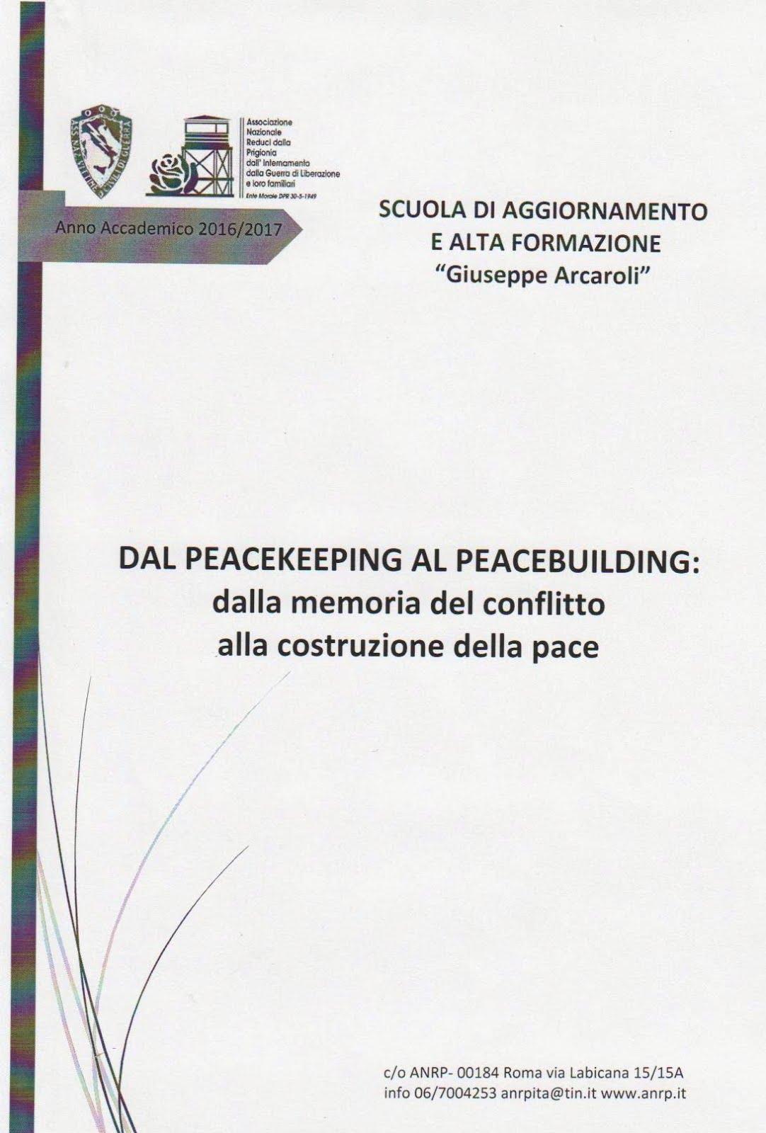 Dal Peacekeeping al Peacebuilding