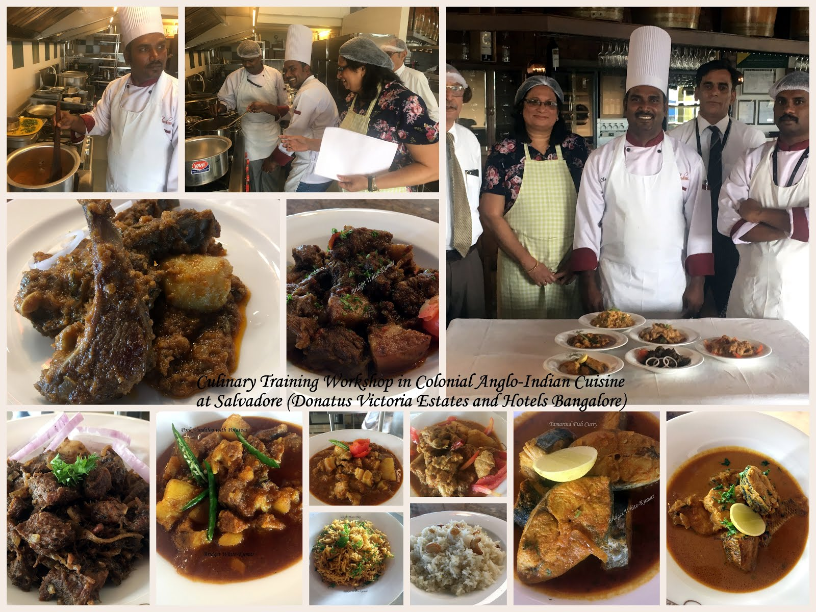 Conial Anglo-Indian Cuisine training workshop at Salvadore, Donatus Victoria, Bangalore