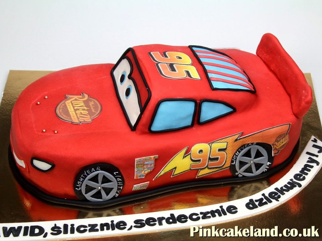 Lightning Mcqueen Birthday Cake in London