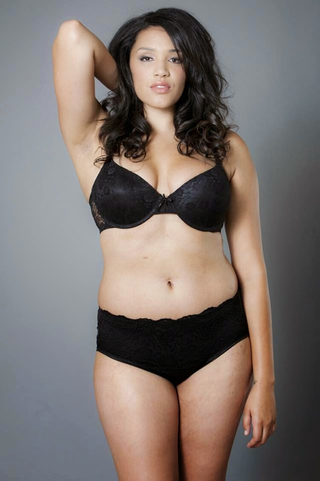 plus size ebony models