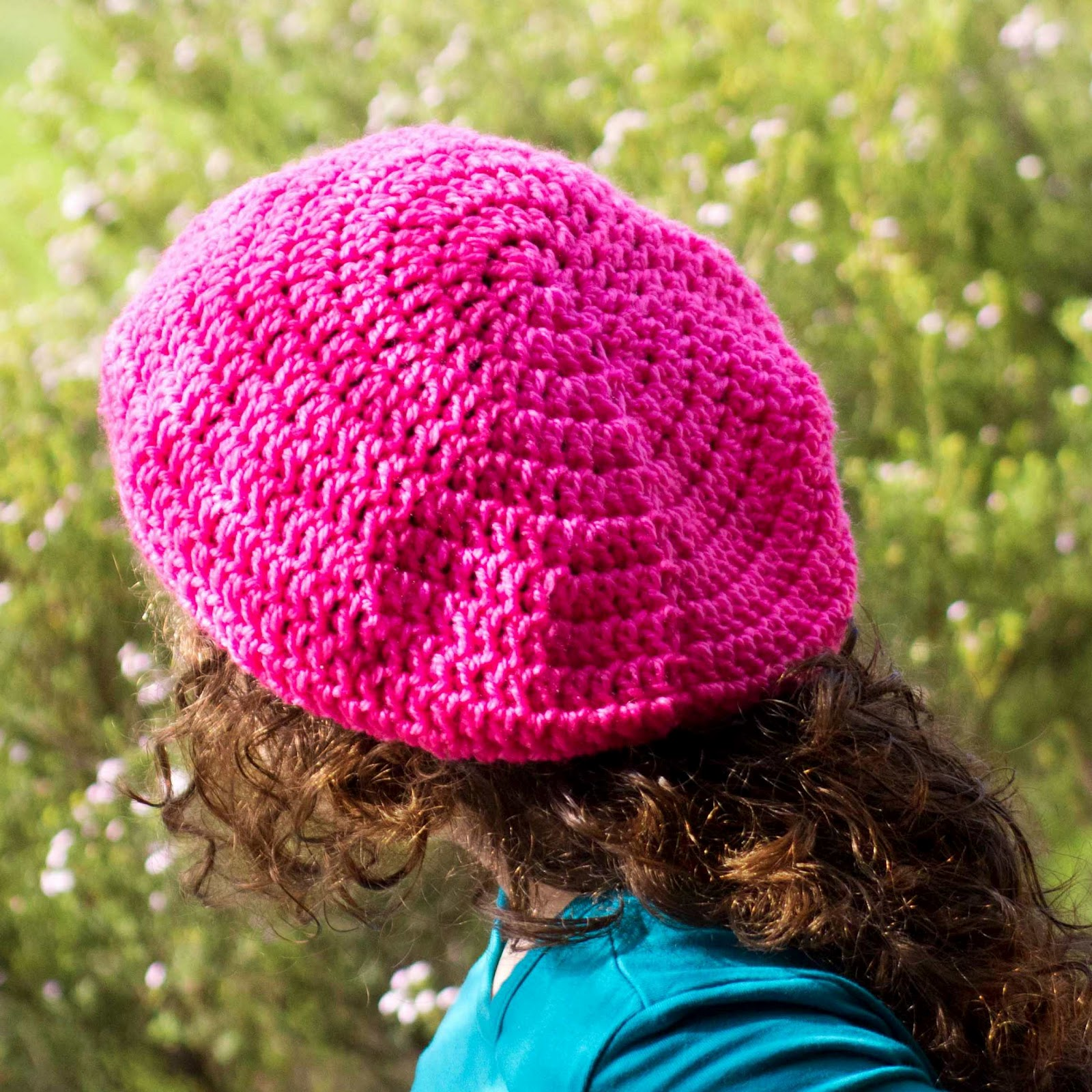 Crochet Basic Beanie Hat Pattern : Hopeful Honey Craft, Crochet, Create: Back to Basics ...