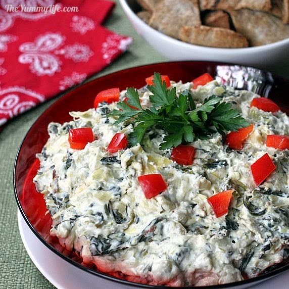 The Yummy Life: Spinach Artichoke Dip