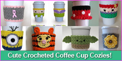 The Enchanted Ladybug - Quality, Cute Crocheted Coffee Cup Cozies