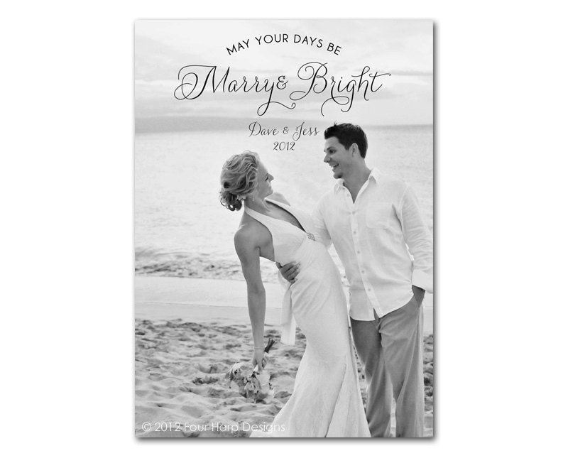 Arzelle\'s Married and Bright Christmas Cards | Arzelle\'s