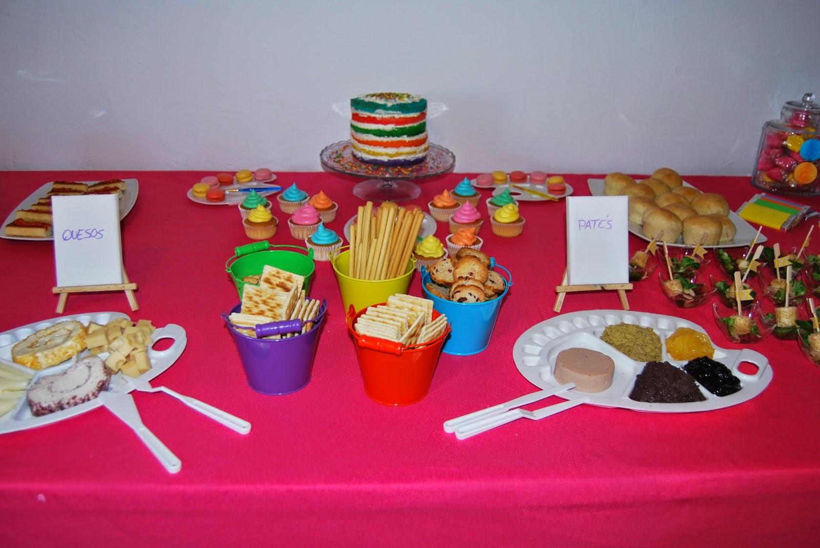 Cumpleaños Art Party