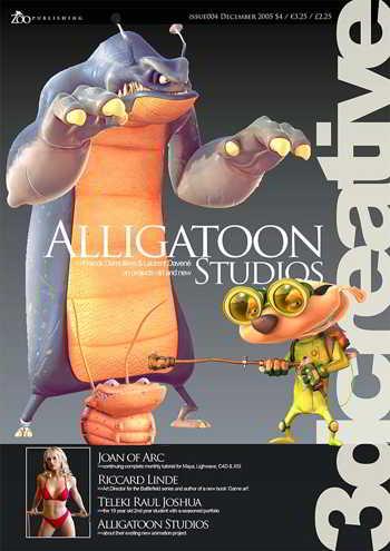 3DCreative Magazine Issue 004 December 2005