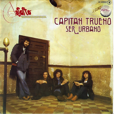 Capitán Trueno. Asfalto. Single