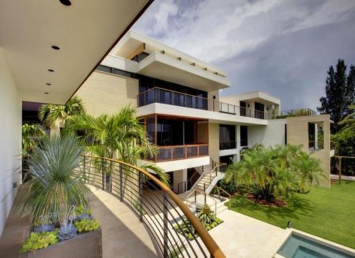 Fachadas casas modernas fachadas de casas residenciales - Casas de 1 piso bonitas ...