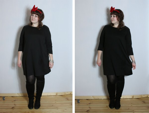 plussize Weihnachtsoutfit