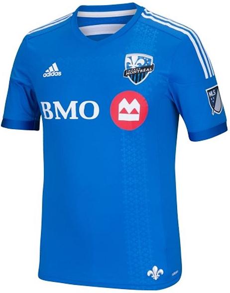 f192628f34 A equipe canadense passou a disputar a MLS em 2012 e nesta temporada sua  principal camisa é predominantemente azul clara com pequenos desenhos da ...