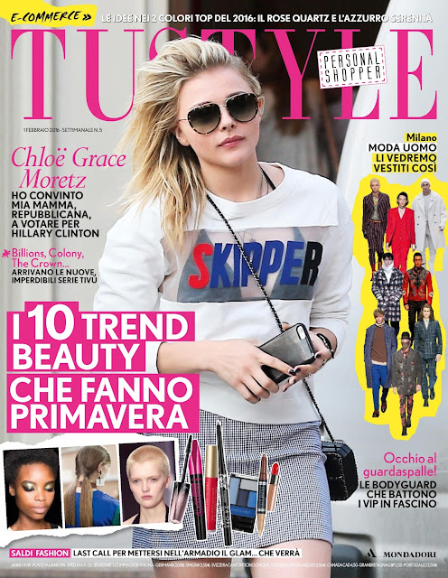 Actress, Model, @ Chloë Moretz - TuStyle, February 2016
