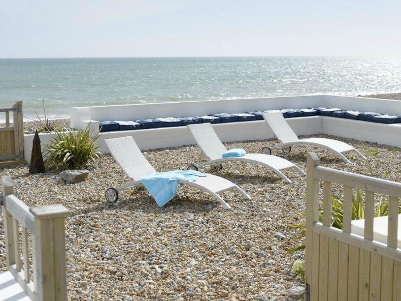 Coastal sun deck