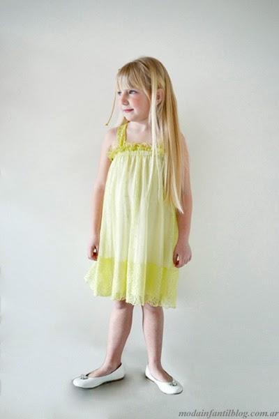 vestidos nenas moda infantil verano 2014