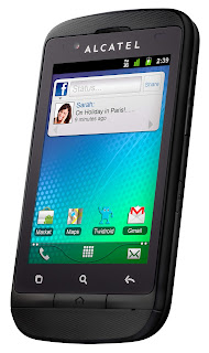 ALCATEL ONE TOUCH SCRIBE X ANNOUNCED IN CES 2013