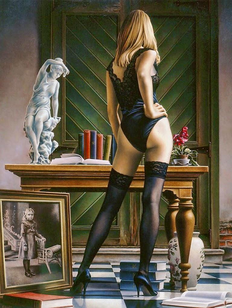 pintura-al-oleo-mujeres-en-ropa-interior