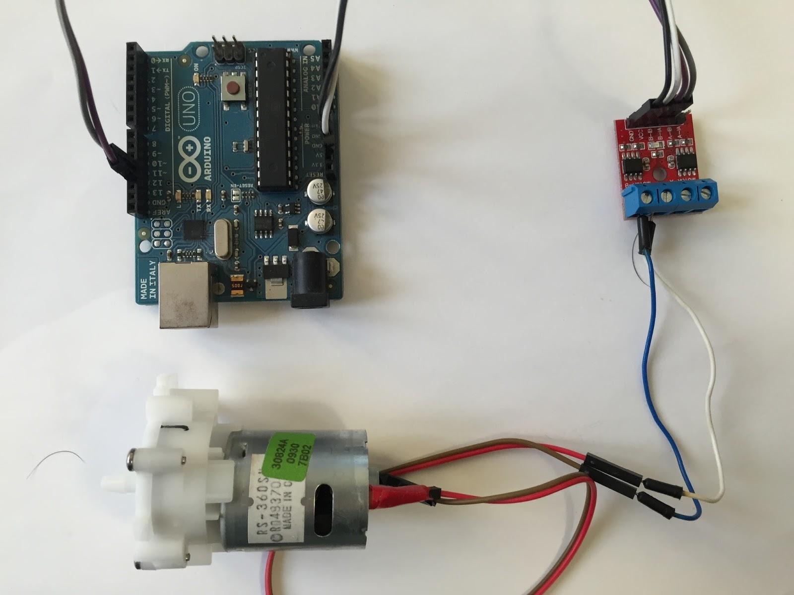 Regular Velocidad Motor Dc Arduino Control Pid Para Posicion De Un Connecting A Photo Interrupter Optoisolator To An Martyn Tutorial Aprender Usar El Driver Motores L9110 Con
