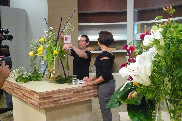 TV Gazeta Ikebana de Casamento no Mulheres .