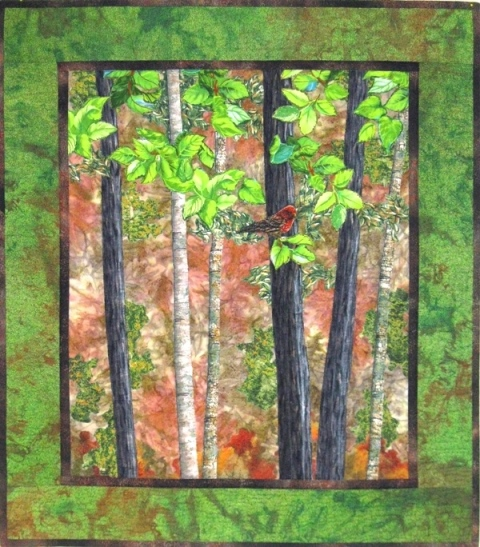 Cathy Geier's Quilty Art Blog: Landscape Quilting with ... : landscape quilting - Adamdwight.com