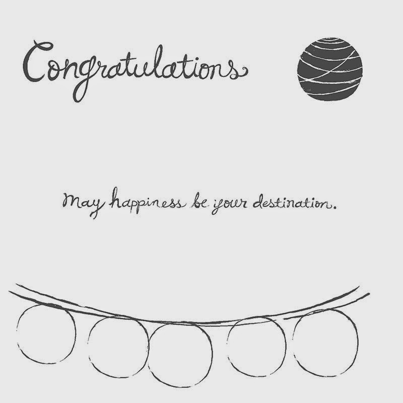 Happy Congratulations by Stampin' Up! www.jeminicrafts.co.uk