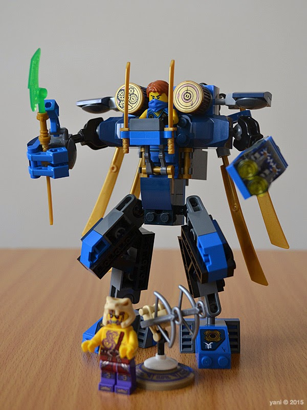 lego ninjago electromech - the finished mech