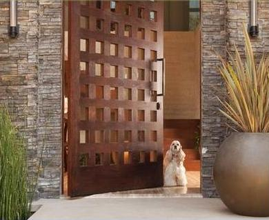 Fotos y dise os de puertas puertas de madera prefabricadas for Puertas prefabricadas