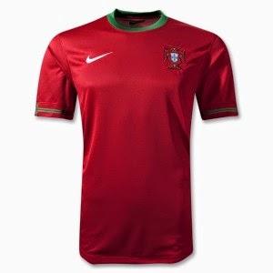 Kostum Timnas Portugal Piala Dunia 2014