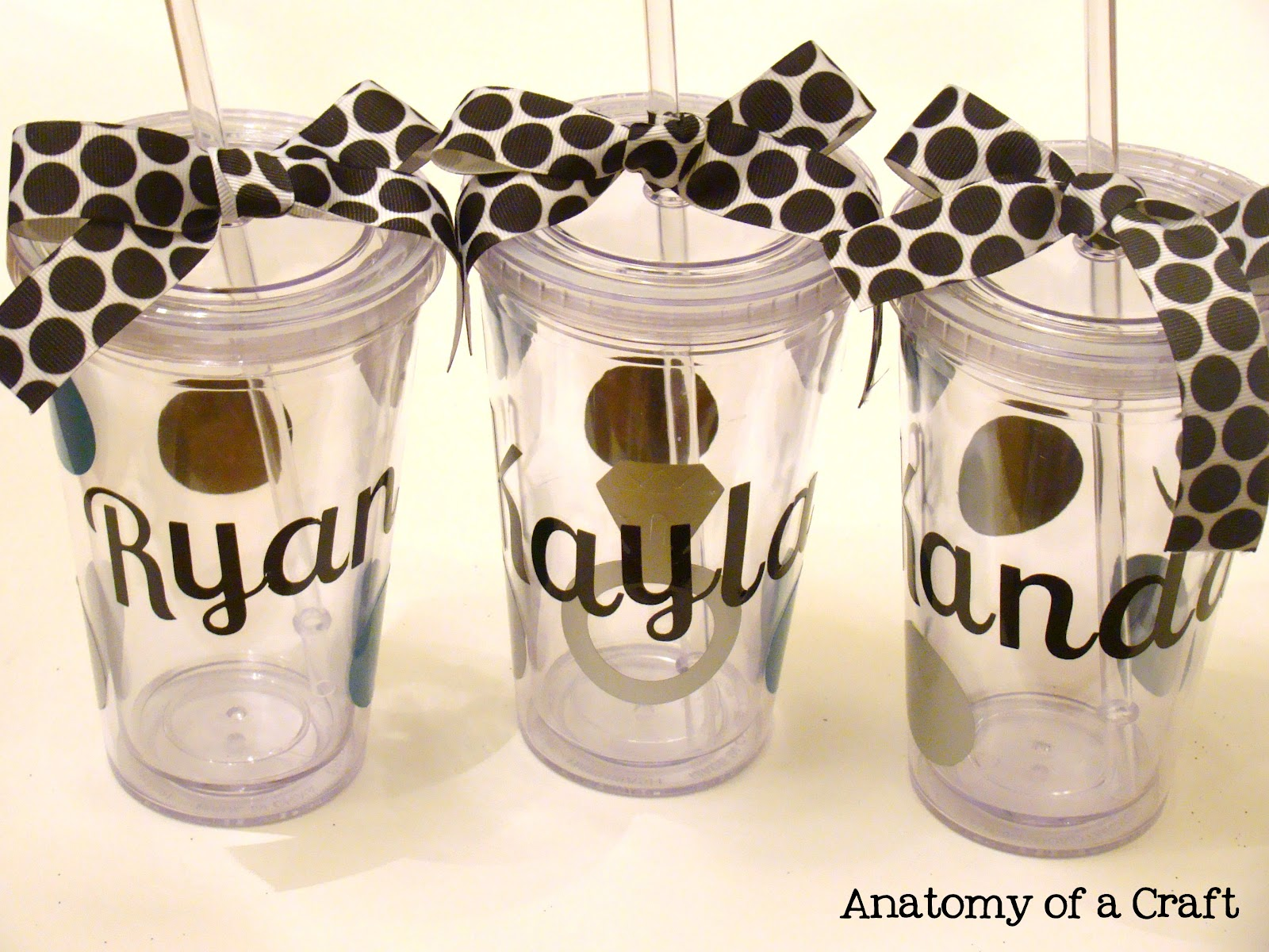 Decorating Plastic Tumblers Anatomy Of A Craft Tuesday Tutorial 6 Personalized Acrylic Tumblers
