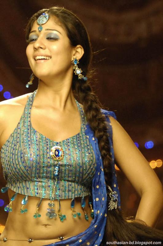 Nayantara In Super Kannada Movie Hot Navel Show Photos Pics glamour images