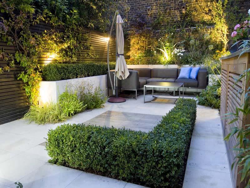 desain taman kecil di lahan sempit untuk rumah minimalis