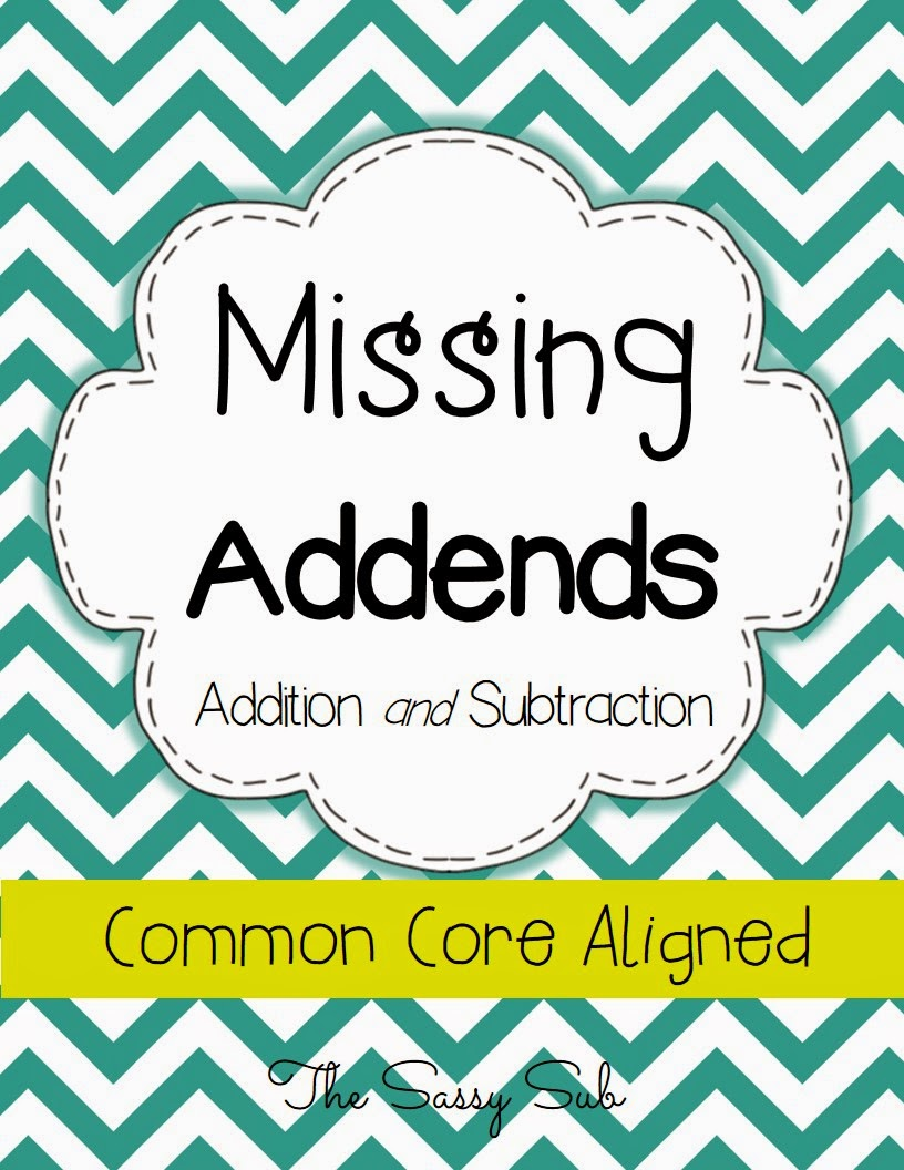 http://www.teacherspayteachers.com/Product/Missing-Addends-Addition-and-Subtraction-Common-Core-Aligned-1207255