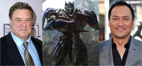John Goodman e Ken Watanabe vão dublar autobots em Transformers: A Era da Extinção