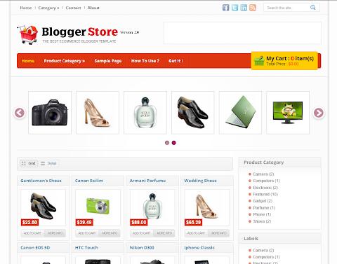 Blogger Store v.2 Blogger Theme