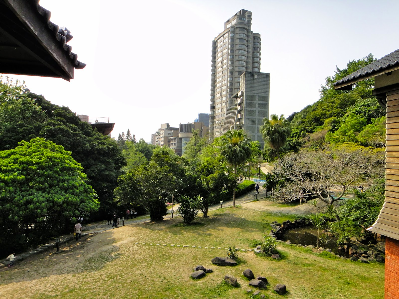 XInbeitou View From Hot Spring Museum Terrace