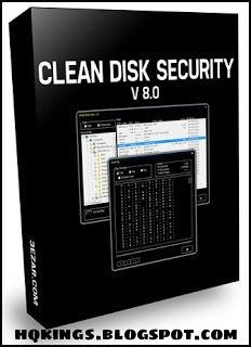 Clean Disk Security 8.03 Full Version With Key