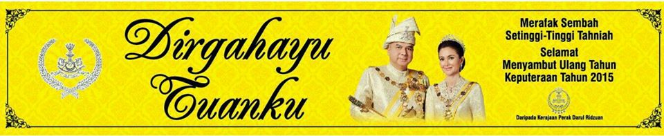 Hari Keputeraan Sultan Negeri Perak 2015 Eintan Nurfuzie
