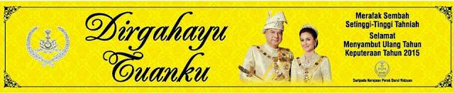 Dirgahayu Tuanku Sultan Perak