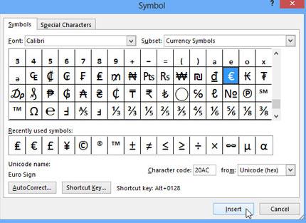 Cách sử dụng biểu tượng trong Microsoft Word 2013 6