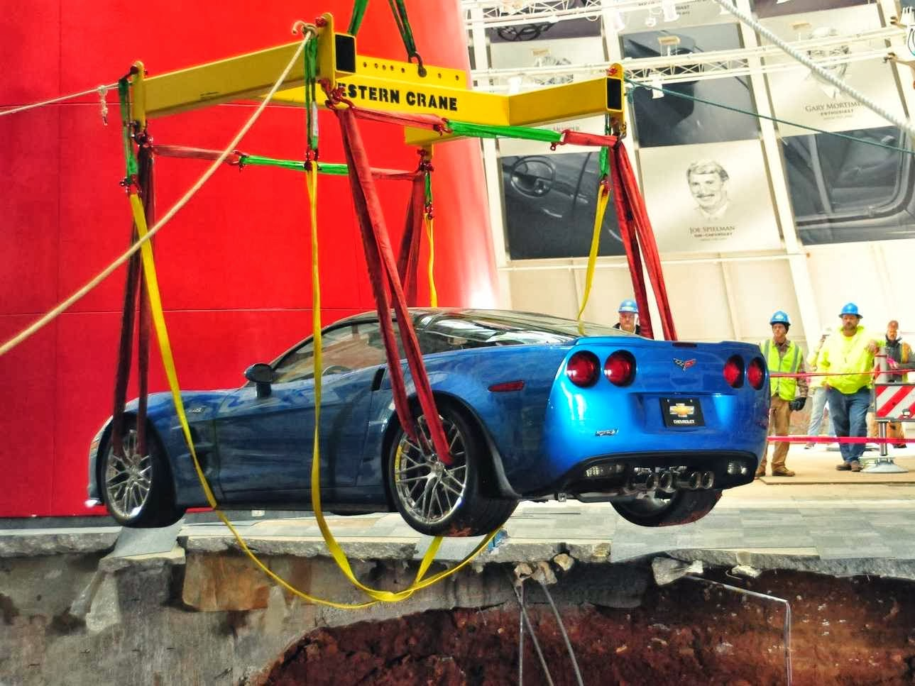 Three Corvettes Recovered From Sinkhole