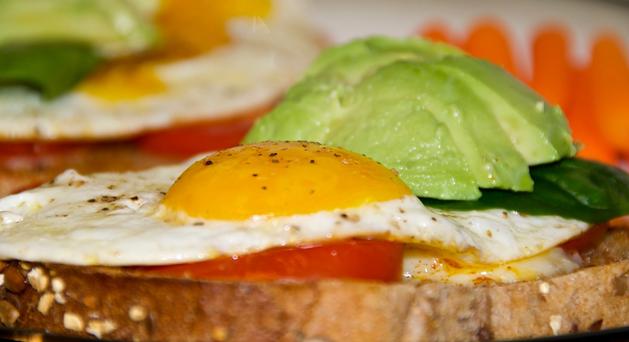 Resepi hidangan sahur ringkas, roti telur mata kerbau
